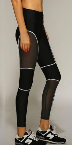 Women's Mesh Activewear Skinny Sports Workout Gym Yoga Ankle Leggings
