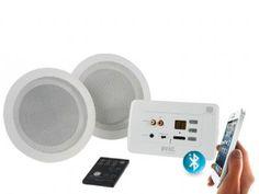 Bluetooth Bathroom Ceiling Speaker. Buy In Wall Bluetooth Amplifier With Ceiling Speakers Clever Little Box