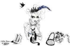 Mademoiselle Oiseau, illustrated by Lovisa Burfitt
