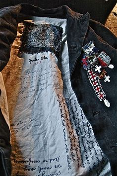 Junko Oki - there's something about stitching on the inside of the coat that completely intrigues me.