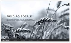 GREY GOOSE Vodka is the French vodka, made without compromise from two ingredients. French Vodka, Best Tasting Vodka, Grey Goose Vodka, Wine Photography, Responsive Web Design, User Interface Design, Site Design, New Media, Graphic Design