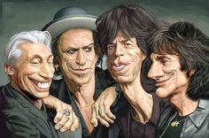 Caricature The Rolling Stone