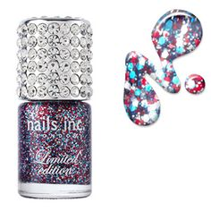 Nails Inc Jubilee 3D Glitter | Nails | BeautyBay.com
