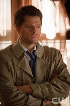 """Supernatural – """"Goodbye Stranger"""" -- Image SN817a_0454 -- Pictured: Misha Collins as Castiel -- Credit: Liane Hentscher/The CW --  © 2013 The CW Network. All Rights Reserved"""