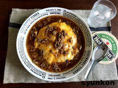 【簡単!!!包丁不要!】おすすめです!肉みそ天津飯と、ごんべさんの赤ちゃん | 山本ゆりオフィシャルブログ「含み笑いのカフェごはん『syunkon』」Powered by Ameba Home Recipes, Asian Recipes, Cheeseburger Chowder, Oatmeal, Rolls, Soup, Cooking, Breakfast, Easy
