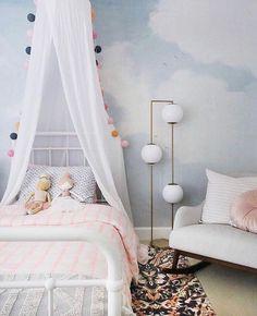Our Little Girl's Dreamy Nursery Design Inspo