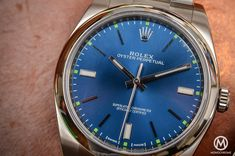 Hands-on Review – The 2015 Rolex Oyster Perpetual 39mm Ref. 114300 – specs and price   https://monochrome-watches.com/rolex-oyster-perpetual-39mm-114300-2015-review-price/