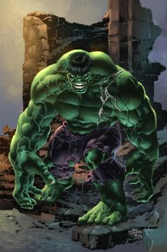 Hulk. Colors by Omi Remalante Jr