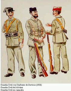 Spanish Civil War Uniforms | Axis History Forum • Spainish Fascist (Nationalist) Uniforms