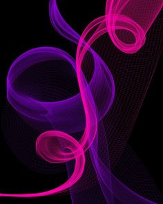 I Love Purple And Pink Yellow Coral Creative Colour
