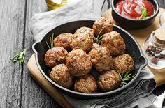 Italian Meatballs | Cooking Professionally Top Recipes, Meat Recipes, Cooking Recipes, Meatball Recipes, Meatball Dish, Cooking Tips, Giada De Laurentiis, Italian Dishes, Starbucks Recipes