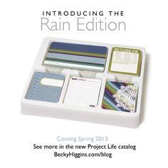 Twitter / BeckyHigginsLLC: Introducing the new RAIN Edition! ...