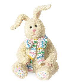 Look what I found on #zulily! Easter Bunny Figurine #zulilyfinds