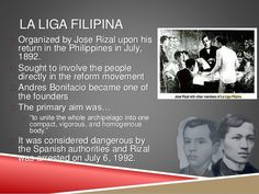 the-reform-movement-and-the-revolution- LALIGA FILIPINA Jose Rizal, Reform Movement, Filipina, Archipelago, Haikyuu, Philippines, Revolution, The Past, Memories