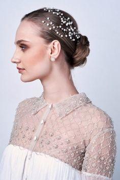 Katerini Bridal Couture - Bridal Hair Accesories    #headband #headpiece #brideaccesories #bridehair #bridehairstyle #bridetobe #bridestyle #brideeditorial