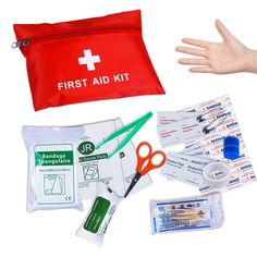 Outdoor Sports Travel Camping Medical First Aid Medical Mini With Kit Bandages Tourniquet Medicine Chest To Produce An Effect Toward Clear Vision Home