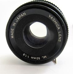 Yashica ML 50mm f1.9 Camera Lens -  Made in Japan #Yashica starting this Sunday at 7pm listed at only £11.95 (!) Bargain!