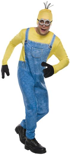 Adult Minion Kevin Costume - Join in on the lovable Minion fun with Kevin, the…