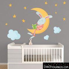Conejo en la luna - Vinilo infantil