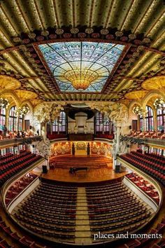 Barcelona,Palau de la música
