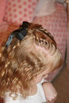Kız Çocuklar İçin Saç Modelleri...
