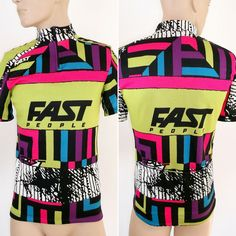 Cycling Jersey Mens Size M cycle Shirt Fast People Italy Vintage VGC Racer Cycling Jerseys, Vest, Italy, People, Top, Shirts, Shopping, Vintage, Fashion