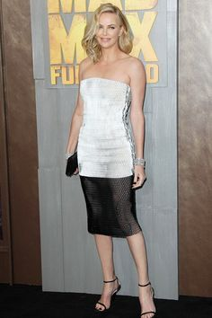 Charlize Theron in Dior at Mad Max premiere