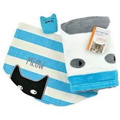 Territory Kitty Love Gift Set with Fleece Blanket Catnip Toy/Canvas Storage Bin >>> Want additional info? Click on the image. (This is an affiliate link) #Cats