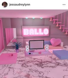 35 awesome living room and modern Home and room Decorating ideas Design. - Fashion and Travel Blogger Cool Kids Bedrooms, Cute Bedroom Ideas, Cute Room Decor, Girl Bedroom Designs, Awesome Bedrooms, Cool Rooms, Neon Bedroom, Girls Bedroom, Bedroom Decor