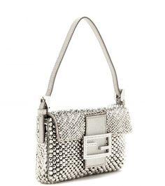 fcbef75c6d59 Fendi - Mini Baguette Shoulder Bag Online Bags