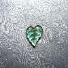 Glass Ivy Leaf Microdermal Top on Etsy, $6.00