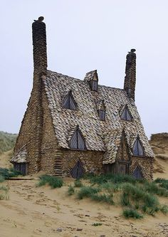"""Shell Cottage""  Location:  Outskirts of Tinworth, Cornwall, England ♒ www.pinterest.com/WhoLoves/Beautiful-Buildings ♒  #Architecture                                                                                                                                                                                 More"