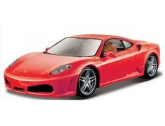 The Burago Ferrari F430 is a diecast model car from this fantastic manufacturer in 1/24th scale.