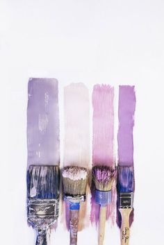 The power of a brush. Get the right look every time with our variety of brushes! #Art | #Paint | #Brushes