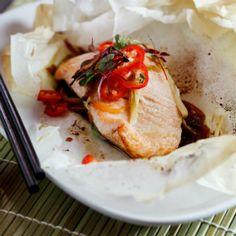 Asian Salmon en Papilotte. #wwflavoursociety