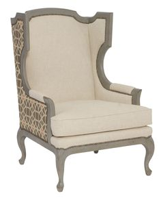 Talbot Chair | Bernhardt. Comes in a variety of wood colors. 30w x 36.5d x 43h