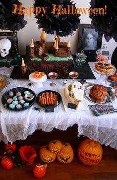 halloween themed food