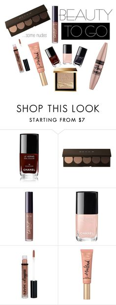 """BeautyToGo"" by sandra-markovic ❤ liked on Polyvore featuring beauty, Chanel, tarte, Maybelline, NYX, Too Faced Cosmetics, Burberry, BeautyTrend, beautiful and makeup"