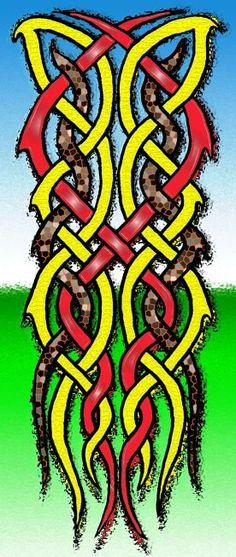 2011 knot texture 3 by Ayla Ellis.