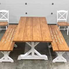 """56 Likes, 4 Comments - Profera Boards (@profera_boards) on Instagram: """"First time making anything like this. What do you think? Dining room table, chairs and benches.…"""""""