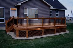 Minnesota Cedar deck photos....i would love a cedar deck...especially after it rains...it would smell sooo good!