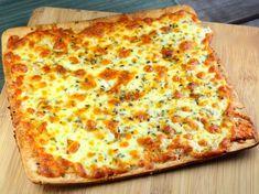 White Pizza Or Pizza Blanca Recipe - Genius Kitchen Cold Vegetable Pizza, Vegetable Pizza Recipes, Taco Pizza Recipes, Cheesy Pizza Recipe, Vegetarian Pizza Recipe, Italian Recipes, New Recipes, Favorite Recipes, World's Best Food
