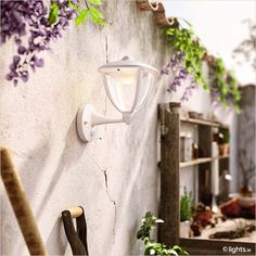 PHILIPS LED outdoor wall light 'Robin'