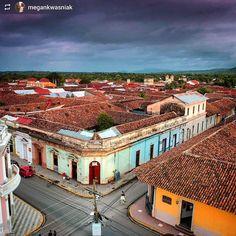 http://OkGranada.com #Follow @megankwasniak: One more from that glorious #sunset  #Granada #Nicaragua #ILoveGranada #AmoGranada #Travel #CentralAmerica #GranadaNicaragua #architecture #colonial #spanish