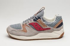 "Saucony Grid 9000 ""Liberty Pack"" Grey - EU Kicks Sneaker Magazine"
