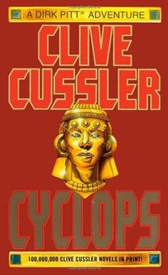 """Rikard H #CybookReads """"Rereading my favourite Clive Cussler: Cyclops. The fictional story about the american Jersey-colony on the moon."""""""