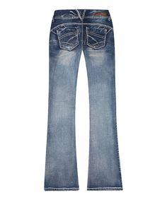 Look at this #zulilyfind! Morocco Sweet Cheek Bootcut Jeans by Ariya Jeans #zulilyfinds