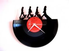 Horloge vinyle Beatles