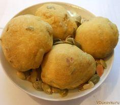 Веганские и вегетарианские рецепты: Индийские булочки с тыквенными семечками / Рецепты в духовке