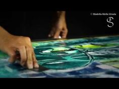 Encaustic/ Madella-Mella Ursula 2014 - YouTube